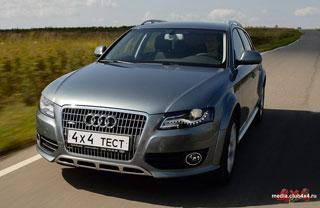 Тест-драйв Audi A4 Allroad