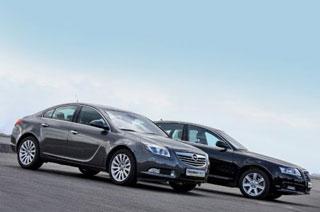 Тест-драйв Opel Insignia, Audi A6