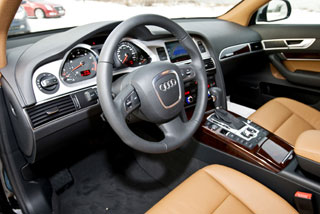 Тест-драйв Audi A6, Honda Legend, Cadillac CTS, BMW 530xi