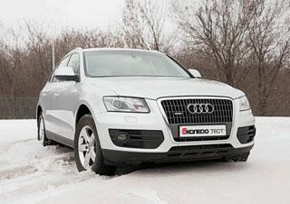 Тест-драйв Audi Q5, Infiniti EX35, Mercedes GLK, Volvo XC60