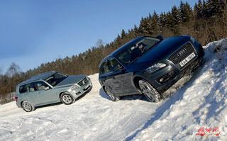 Тест-драйв Audi Q5, Mercedes GLK