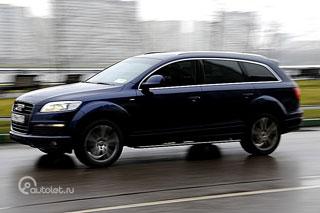 Тест-драйв Infiniti FX50 и Audi Q7