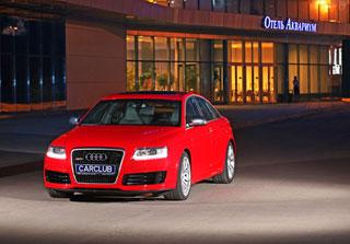 Тест-драйв Audi RS6