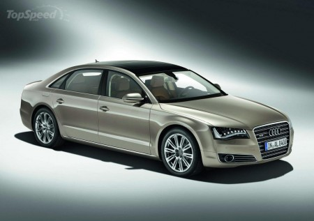 Audi A8 L 2011 года