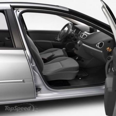Renault Clio получит поворотные сиденья