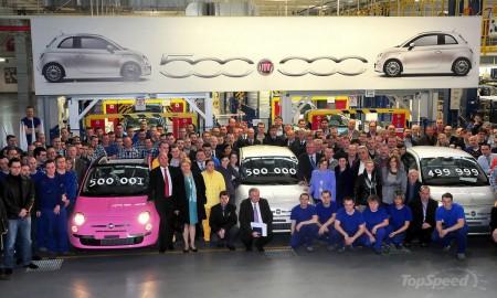 C конвейера сошел 500 000-й Fiat 500