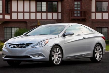 Купе Hyundai Sonata 2011 года