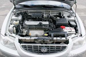 Полуторалитровый 16-клапанник запросто разгоняет довольно легкий «Hyundai Accent».