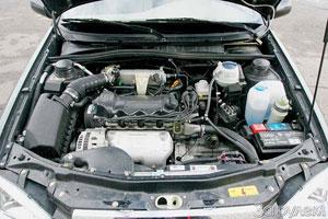 Двигатель «Chery Amulet» явно не дотягивает до 94 л.с., но хорош на низких оборотах.