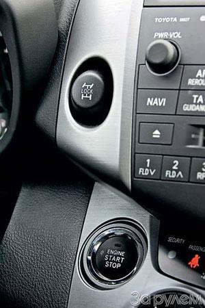 С непривычки при запуске мотора иногда нажимаешь кнопку блокировки дифференциала.