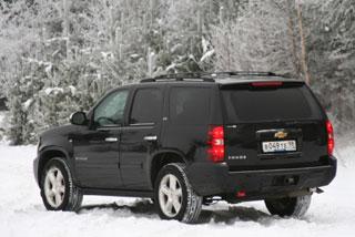 Тест-драйв Chevrolet Tahoe, Hummer H3