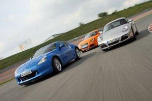 Тест-драйв Nissan 370Z, Audi TTS, Porsche Cayman