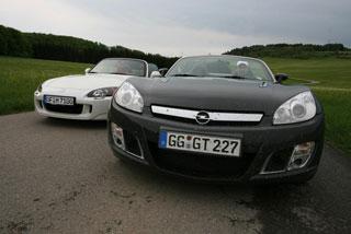 Тест-драйв Opel GT, Honda S2000