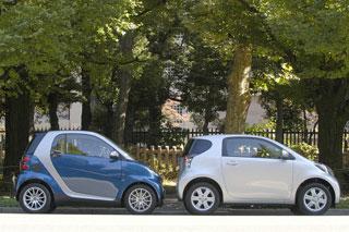 Тест-драйв Toyota iQ, Smart ForTwo