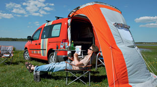 Тест-драйв VW Caddy Tramper
