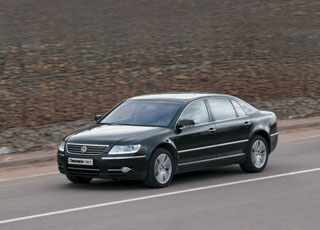 Тест-драйв Volkswagen Phaeton