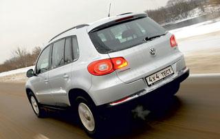 Тест-драйв Volkswagen Tiguan, Ford Kuga