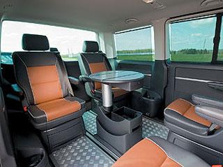 Тест-драйв Volkswagen Multivan Pan Americana