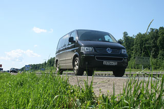 Тест-драйв Volkswagen Multivan Executive