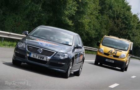 Volkswagen Passat BlueMotion установил рекорд эффективности