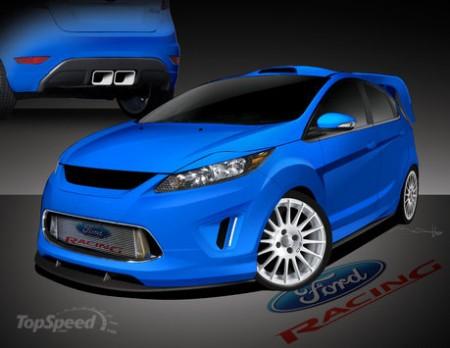 В Лас-Вегасе покажут модифицированные Ford Fiesta
