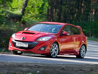 Mazda3 MPS: Акклиматизация