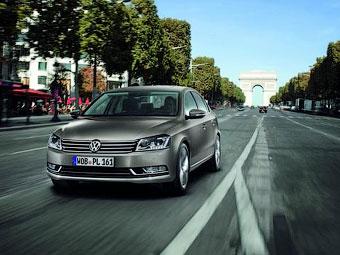 VW Passat седьмого поколения. Фото VW