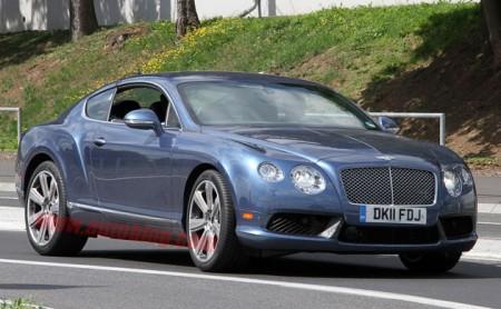 Bentley Continental GT Speed следующего поколения замечен без маскировки