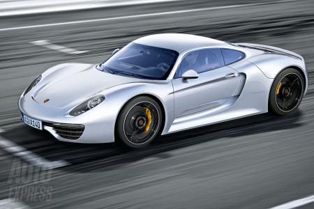 Опубликованы первые фото нового суперкара Porsche
