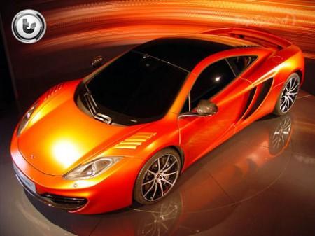 McLaren предложит программу кастомизации для MP4-12C