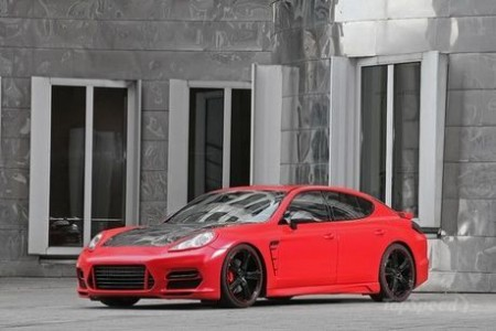 2011 Porsche Panamera Red Race Edition от Anderson Germany