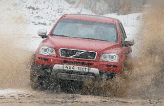 Тест-драйв Volvo XC90, Lexus LX570