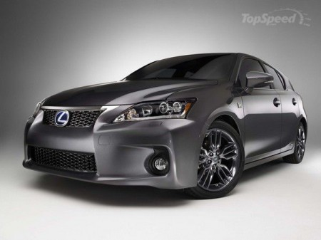 2012 Lexus CT 200h F-Sport Special Edition