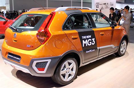 Британо-китайский хэтчбек MG превратили в кроссовер