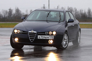 Тест-драйв Alfa Romeo 159