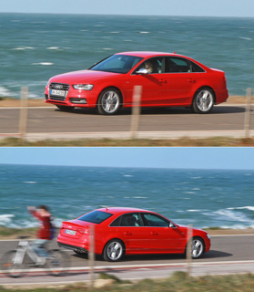 Тест-драйв Audi A4, Audi S4