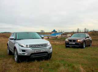 Тест-драйв BMW X1 vs Range Rover Evoque
