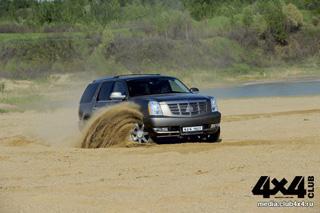 Тест-драйв Cadillac Escalade Hybryd
