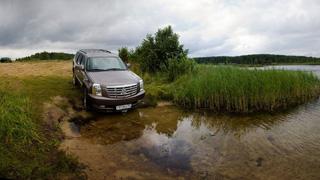 Тест-драйв Toyota Land Cruiser 200, Nissan Patrol, Cadillac Escalade Hybrid