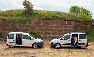 Тест-драйв Citroen Berlingo vs VW Caddy Kombi