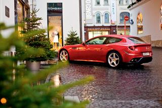 Тест-драйв Ferrari FF