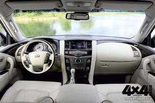 Тест-драйв Infiniti QX56, Mercedes-Benz GL