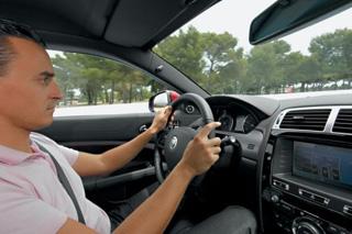 Тест-драйв Jaguar XKR-S