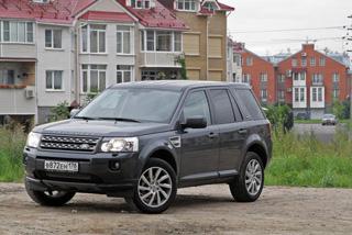 Тест-драйв Land Rover Freelander II