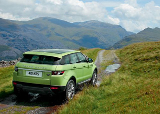 Тест-драйв Range Rover Evoque