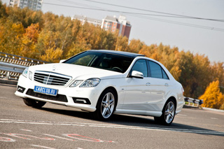 Тест-драйв Mercedes-Benz E-Class