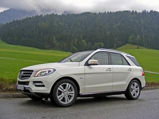 Тест-драйв нового Mercedes M-класс