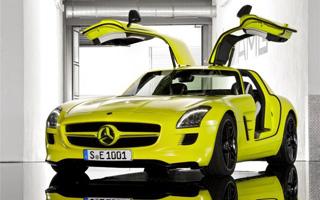 Тест-драйв Mercedes SLS AMG