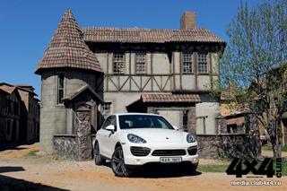 Тест-драйв Porsche Cayenne S Hybrid
