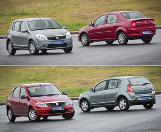 Тест-драйв Renault Logan, Renault Sandero